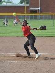 Crestview's Kennedy Hickey struck out 25 batters in