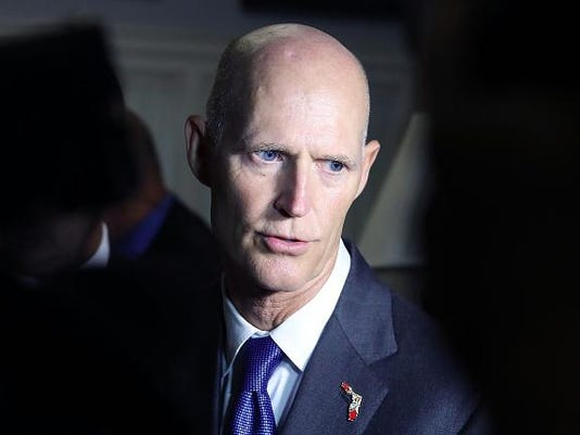 Florida Gov. Rick Scott Meets With Florida Lawmakers To Discuss Efforts In Combatting Zika Virus