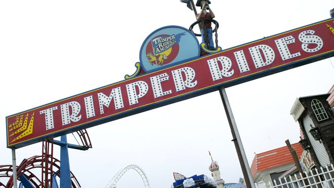 Trimper's Amusements in Ocean City.