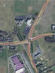 DelDOT plans for the Georgetown East Gateway project