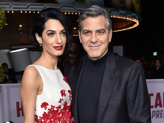 FILE - In this Feb. 1, 2016, file photo, Amal Clooney,
