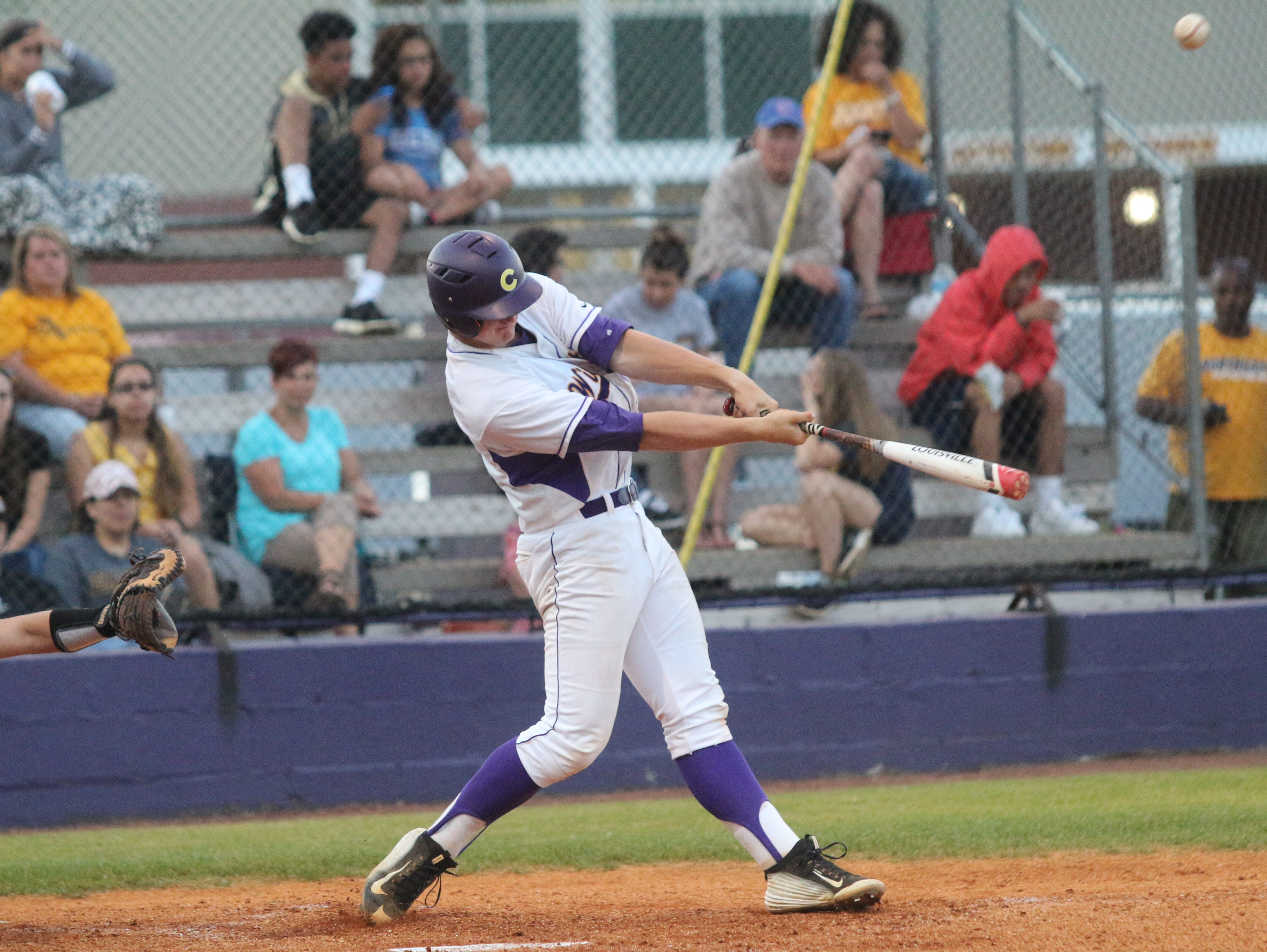 Clarksville High's Donny Everett takes a swing at a pitch during the District 10 tournament earlier this month. Everett won the inaugural Mr. Baseball award Tuesday presented to him by the Tennessee Baseball Coaches Association.
