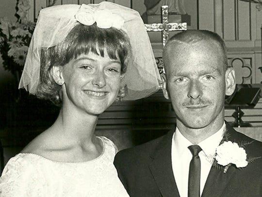 Ed and Sharon Self, 1965
