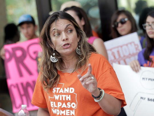 Lyda Ness Garcia, founder of Stand With El Paso Women,