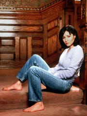 "1998. Shannen Doherty stars as a witch in ""Charmed"""