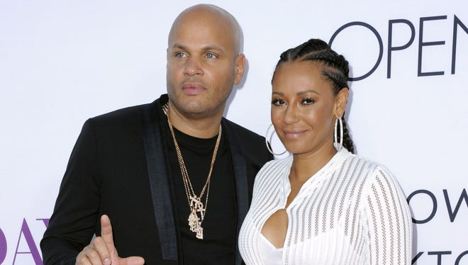 Mel B and Stephen Belafonte   married in the summer of 2007.