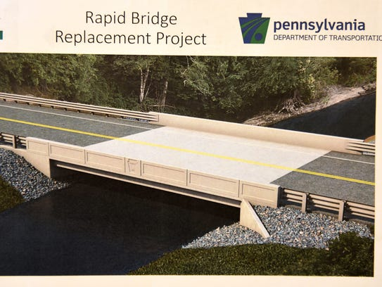 The Fisher Avenue bridge in Union Township will be