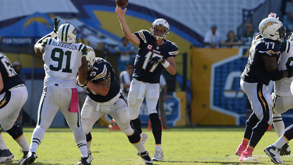 Rivers Chargers Race Past Hapless Jets 31 0