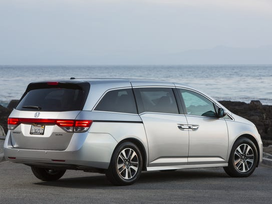 2014 Honda Odyssey rear