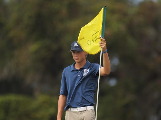 Maclay's Spencer Fairfield finished in a tie for third at Wednesday's district tournament at Southwood, shooting 74.