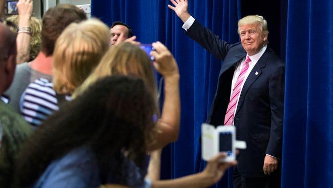 Republican nominee Donald Trump.