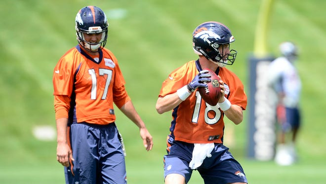 Denver QB Peyton Manning is entering his fourth season with the Broncos.