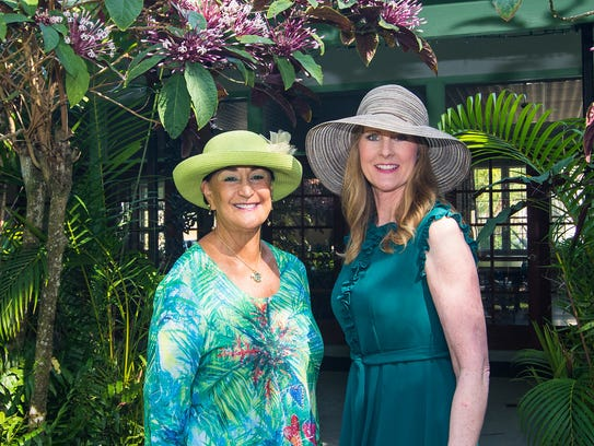 """Food, Friends and Fashion"" Co-Chairs Janie Copes,"