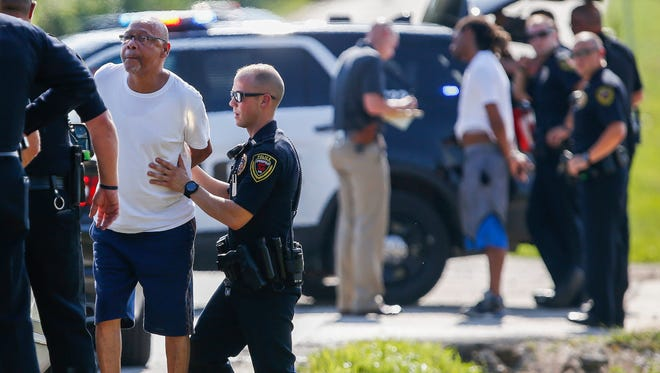 Raleigh Hicks, 62, was arrested by Springfield police Wednesday following a brief standoff in the 3700 block of West Nichols Street.