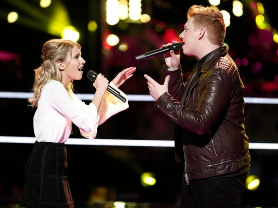 "Colonia's Mike Schiavo's journey on ""The Voice"" ended with the Battle Rounds on Monday."
