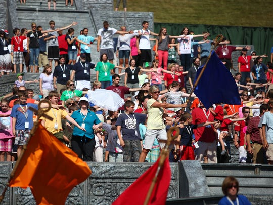 The Hill Cumorah Pageant is the longest running outdoor