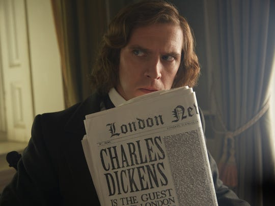 Dan Stevens stars as Charles Dickens in the holiday