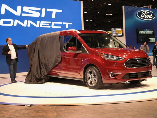 Latest Car Models Showcased At Chicago Auto Show