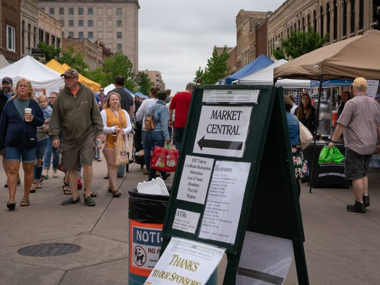 The Oshkosh Farmers Market opened for the summer in