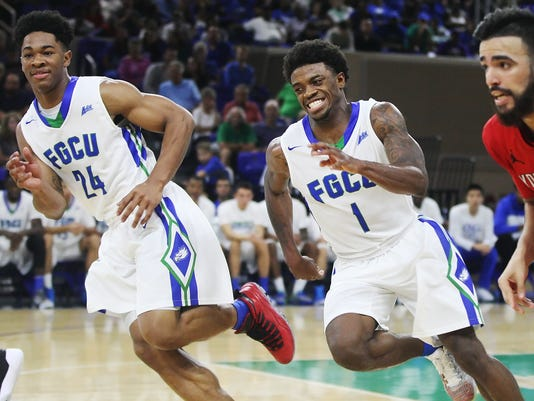 FGCU, Reggie Reid, Zach Johnson