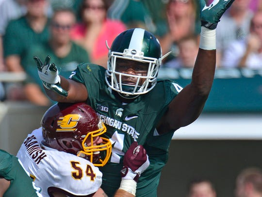 Malik McDowell played two seasons at Michigan State.