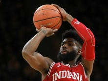 Robert Johnson catches fire, IU holds on for 84-82 win over Iowa