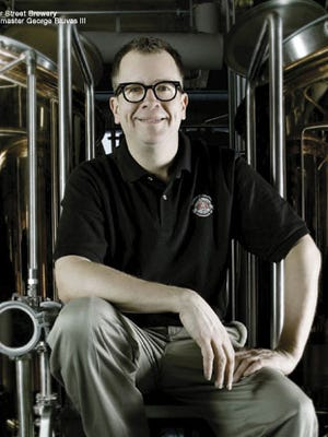 George Bluvas, brewmaster for Water Street Brewery, has plans for more unique brews.