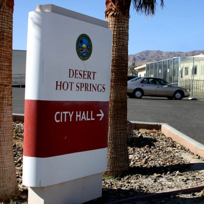 Desert Hot Springs City Hall. A new batch of leaders