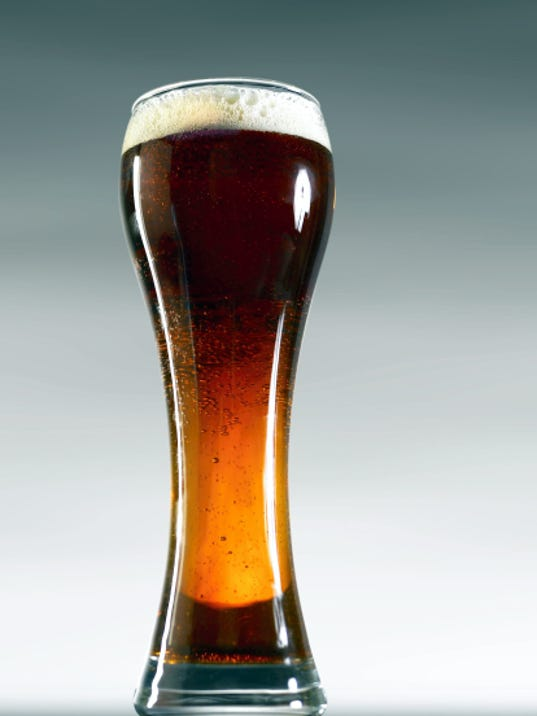 A weizen glass locks in aromas and takes on volume and head.