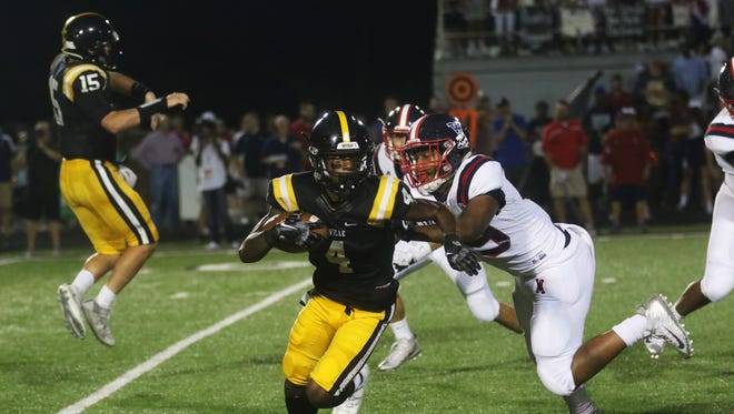 Neville topped 200 yards rushing in back-to-back wins over Ouachita and Carroll but were held to under 30 yards on the ground in a 27-7 loss to West Monroe last week. The Tigers travel to Franklinton in Week 6 after the bye.