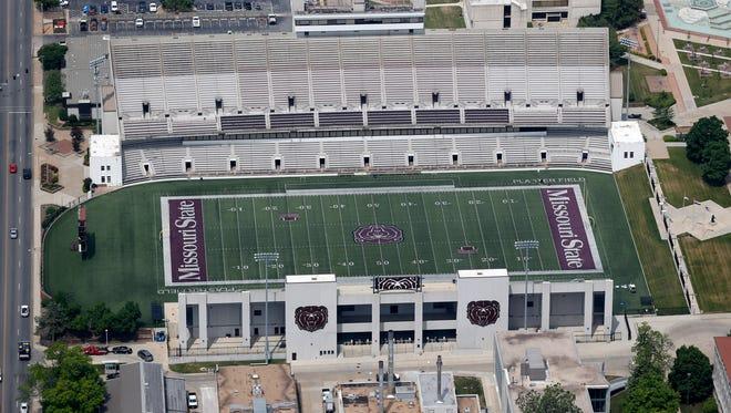 Plaster Stadium at MSU