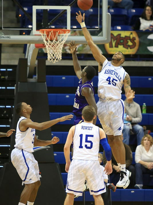 2014 Western at UNC Asheville Basketball