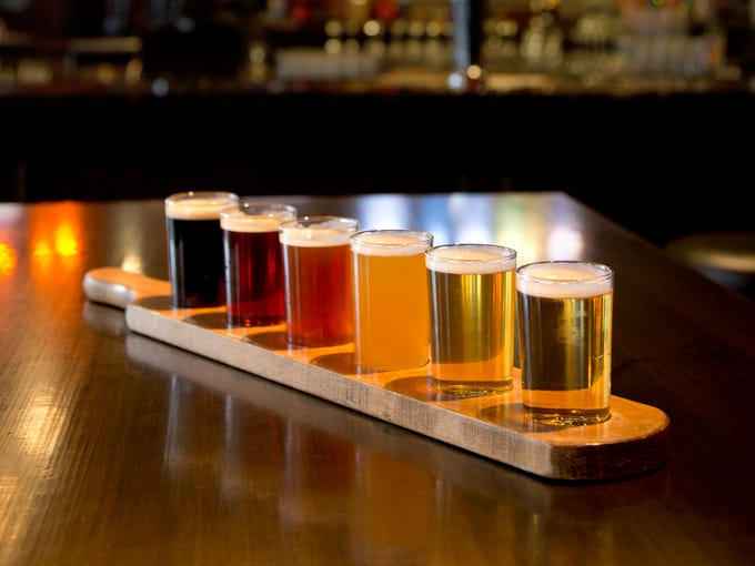 Thirsty Lion Gastropub & Grill | Beer flights will