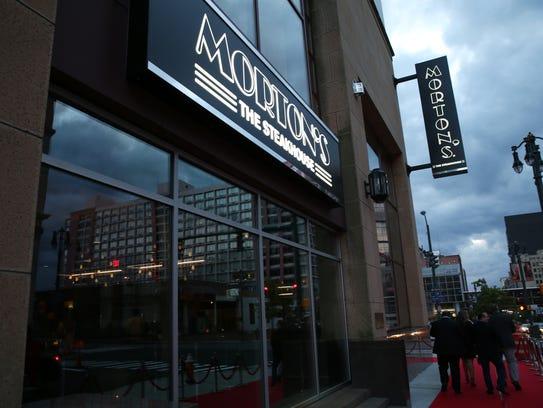 Morton's The Steakhouse is at the Hyatt Regency Rochester,