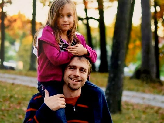 Submitted photo of 32-year-old Damian Miller and his daughter, Leana Miller. Damian Miller, on June 4, 2014, died in a heroin-related overdose in the bathroom of his grandmother, Cynthia Miller.