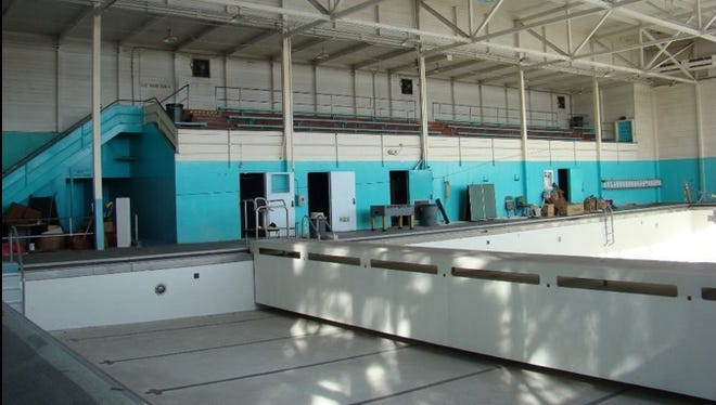 The swimming pool, which opened in 1948, will be replaced with a new community recreation center.