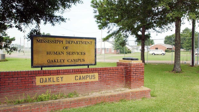 This is a July 22 ,2003 file photograph of the entrance of the state juvenile training school's Oakley Campus in Raymond, Miss.