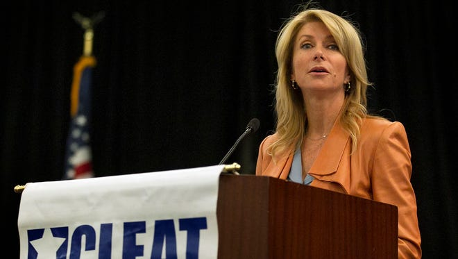 Texas Senator Wendy Davis, D-Fort Worth