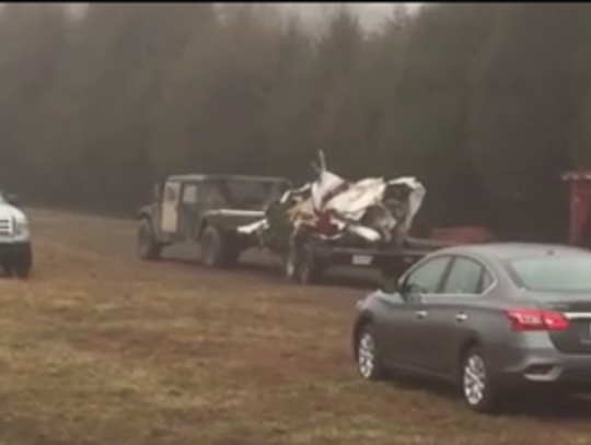 A small plane that crashed in southern Illinois Saturday,