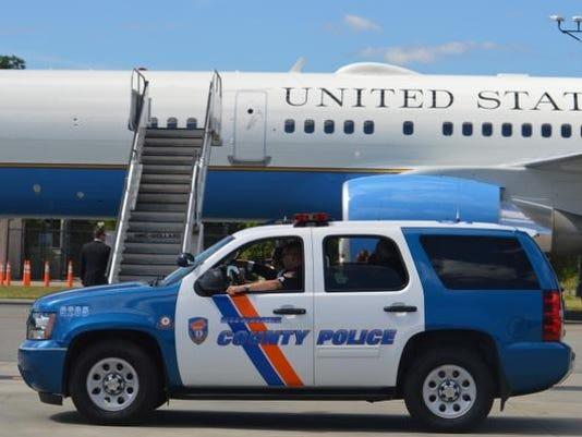 Obama vist airport