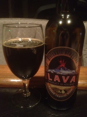 A smoked beer from Iceland? Sure.