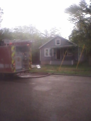 A neighbor reported a house fire in the 1000 block of Second Street North in Wisconsin Rapids early Tuesday morning.