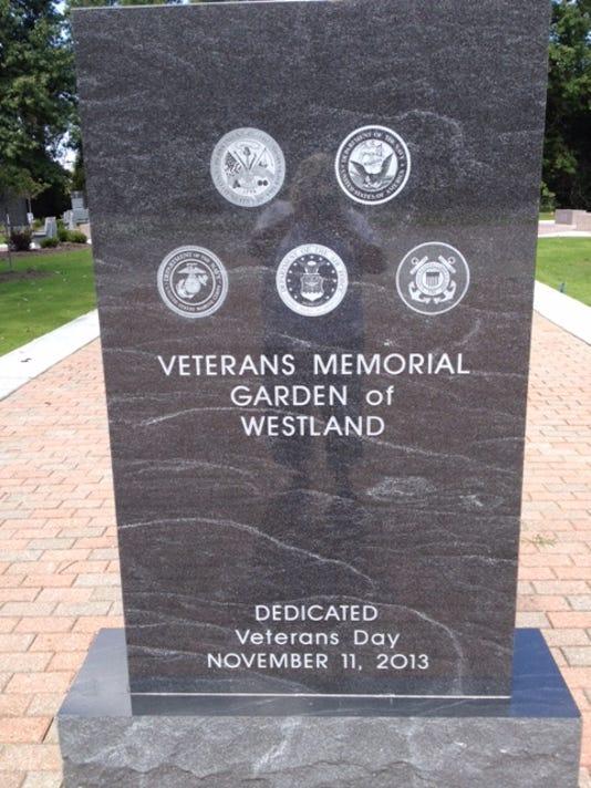 WSD veterans memorial garden