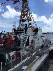 U.S. Coast Guard Cutter Assateague.