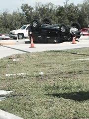 Capri resident John McNicholas photographed the accident that held traffic up for more than an hour around 4 p.m. on Friday, June 26 at the intersection of SR 951 and CR 952.