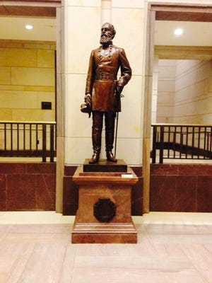 Some Florida state legislators are open to having this statue of Confederate Gen. Edmund Kirby Smith removed from the U.S. Capitol Visitors Center and replaced with a historical figure from the state not connected to the confederacy.