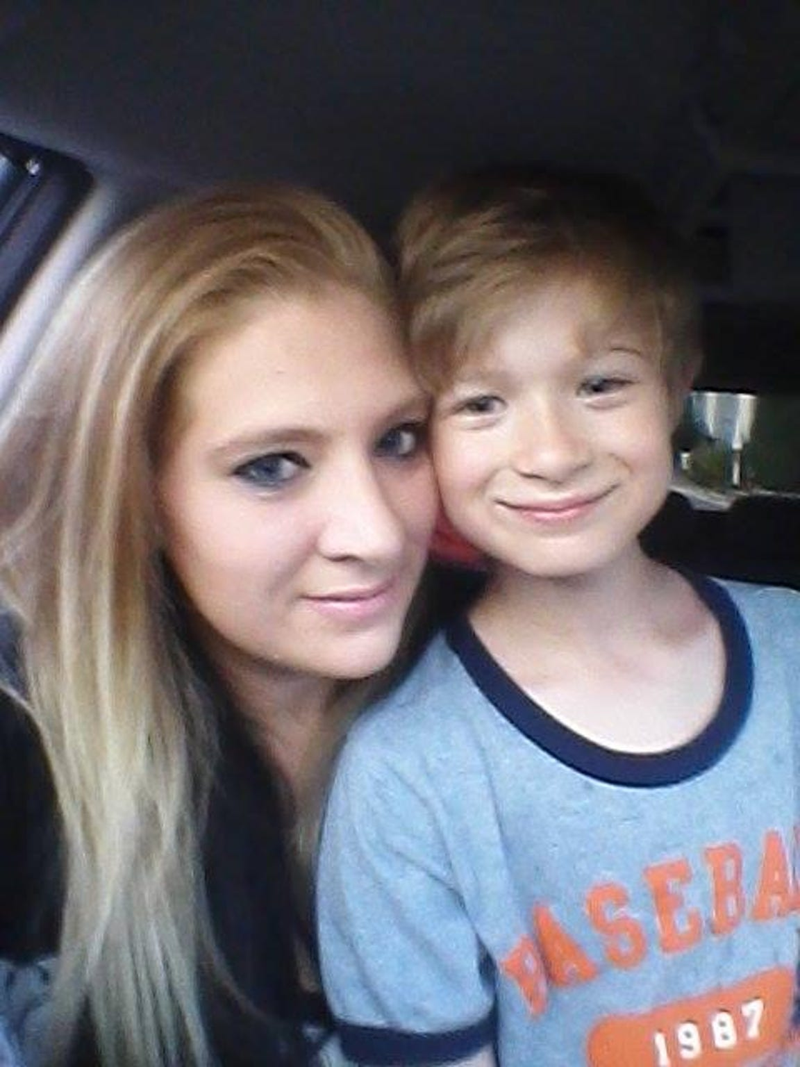 Stephanie and her son, Michael, 11.