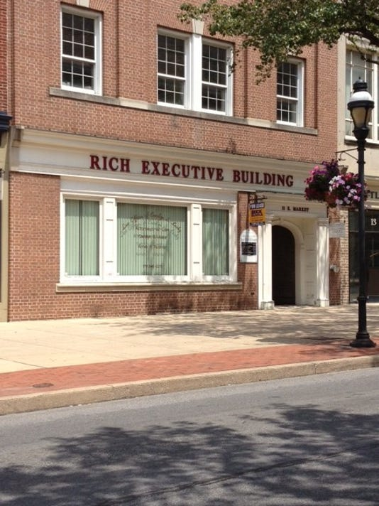 A building named after pompous York County CEOs?