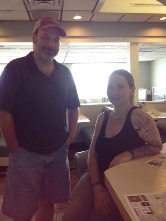 Jay Taylor and Courtney Shumway of Bad Ferret Films.