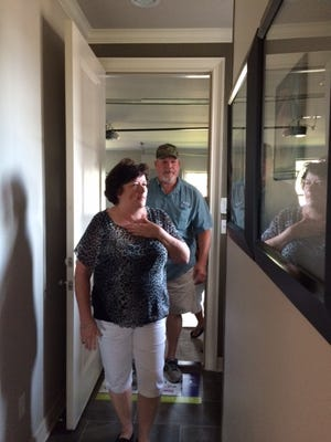 Mr. and Mrs. Jeff James of Shreveport, Louisiana are the winners of the KTBS 3/St. Jude Dream Home.